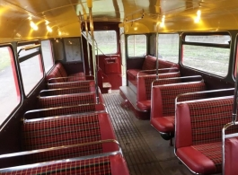 Classic London Bus for weddings in Windsor